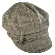 Adele Plaid Cap