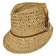 Straw Admiral Cap Hat