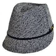 Tweed Fedora Cap