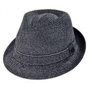 Billy Toyo Straw Fedora Hat
