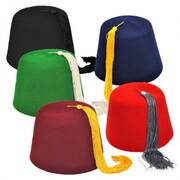 Fez Hat Party Pack Prop Kit
