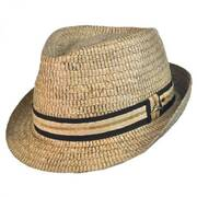 Buri Palm Braid Fedora Hat