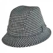 British Wool Houndstooth Walker Hat