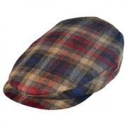 Cashmere Wool Plaid Ivy Cap