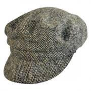 Harris Tweed Wool Boating Cap