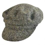 Harris Tweed Boating Cap