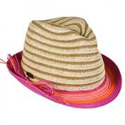 Child's Striped Fedora Hat