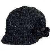 Sparkle Tweed Newsboy Cap