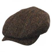 Harris Herringbone Tweed Ivy Cap