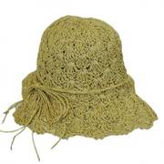 Child's Shell Crochet Toyo Sunhat