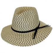 Toyo Straw Tweed Safari Hat