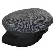 Star Tweed Wool Blend Fiddler Cap