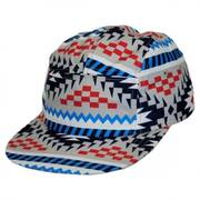 Camper Fabric Snapback Baseball Cap - Child