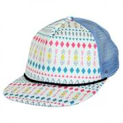 Azteca Mesh Trucker Snapback Baseball Cap - Child