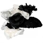 Flower and Lace Fascinator
