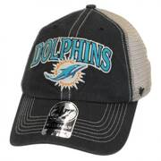 Miami Dolphins NFL Tuscaloosa Mesh Fitted Baseball Cap