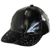 Metallic Stud Ball Cap