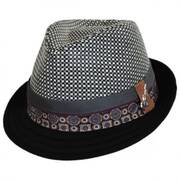 Hue Wool Blend Trilby Fedora Hat