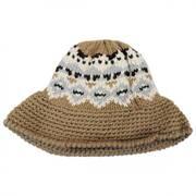 Fairisle Knit Bucket Hat