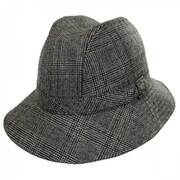 Plaid Walking Fedora Hat
