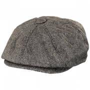 Marl Tweed Newsboy Cap