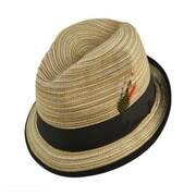 Multi Stripe Trilby Fedora Hat