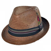 Tribeca Toyo Straw Fedora Hat