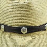 Disc Stud Hat Band