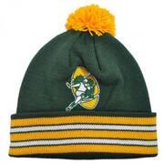 Green Bay Packers NFL Cuffed Knit Beanie Hat w/ Pom