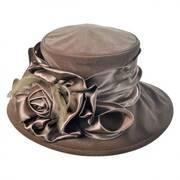 Sable Velvet Boater hat
