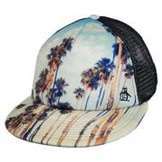 Palm Tree Trucker Cap