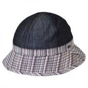 Color Block Dome Bucket Hat