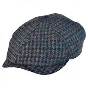 Harris Tweed Newsboy Cap w/ Earflaps Hat