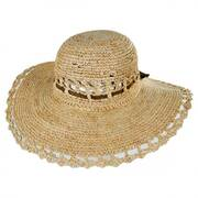 Amy Summer Women's Raffia Hat