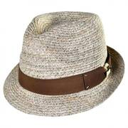 Stingy Brim Braid Fedora Hat
