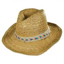 Child's Rainbow Band Cowboy Hat