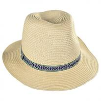 Jacquard Band Youth Fedora Hat