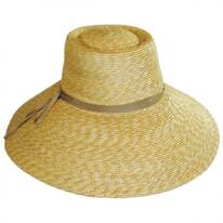 Capri Milan Straw Wide Brim Sun Hat