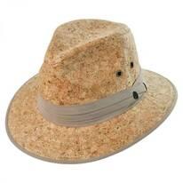 Cork Safari Fedora Hat