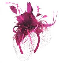 Bernadette Fascinator Headband