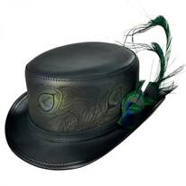 Strut Peacock Top Hat