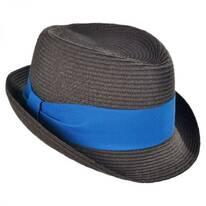 Kid's Dapper Toyo Straw Fedora Hat