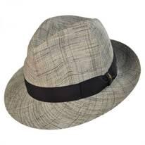 Raffia Straw Trilby Hat