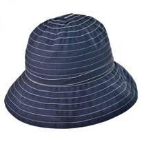 Roller Ribbon Cotton Blend Sun Hat