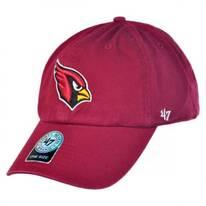 Arizona Cardinals NFL Clean Up Strapback Baseball Cap