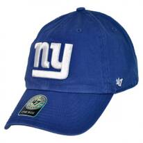 New York Giants NFL Clean Up Strapback Baseball Cap