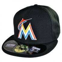 Miami Marlins MLB Home 59Fifty Fitted Baseball Cap