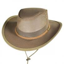 Mesh Covered Safari Hat