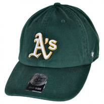 Oakland Athletics MLB Clean Up Strapback Baseball Cap