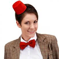 11th Doctor Who Mini Fez and Bow Tie Accessory Kit